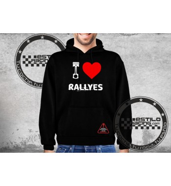 Sudadera I Love Rallyes