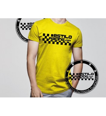 Camiseta Estilo Racing