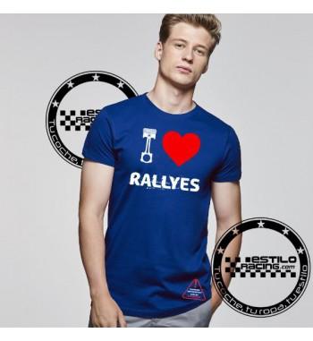 Camiseta I Love Rallyes
