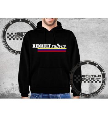Sudadera Renault Rallyes