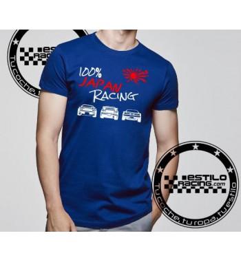 Camiseta 100% Japan Racing