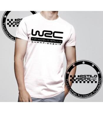 Camiseta WRC