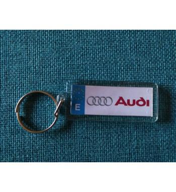 Llavero Metacrilato Audi