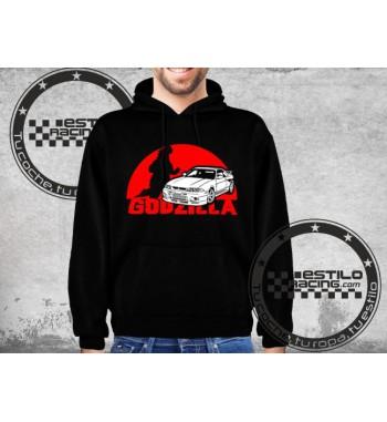 Sudadera R33 GTR Godzilla