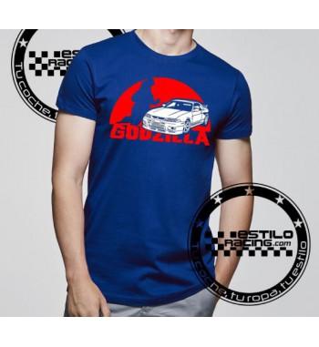Camiseta R33 GTR Godzilla