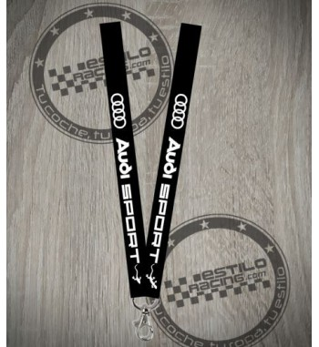 Cuelgallaves Audi Sport...