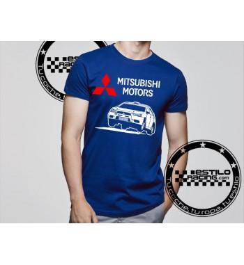 Camiseta Mitsubishi Saltando