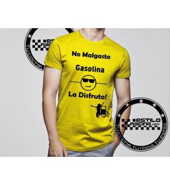 Camiseta No malgasto...