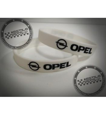 Pulsera de goma Opel