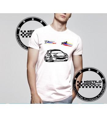 Camiseta Peugeot 206
