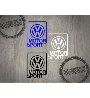 Pegatina Volkswagen Motor...