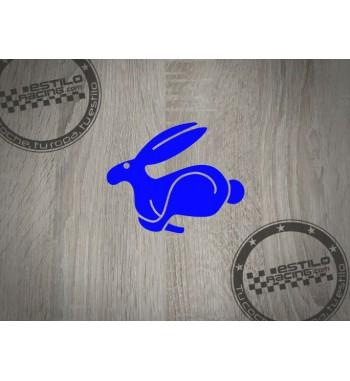 Pegatina Rabbit Volkswagen