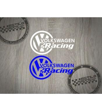 Pegatina Volkswagen Racing...