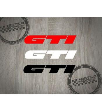 Pegatina Volkswagen GTI