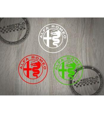 Pegatina Alfa Romeo logo 2