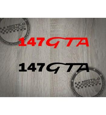 Pegatina Alfa Romeo 147 GTA