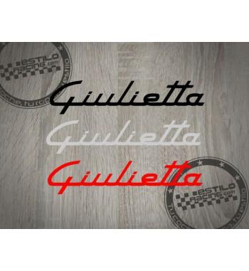 Pegatina Alfa Romeo Giulietta