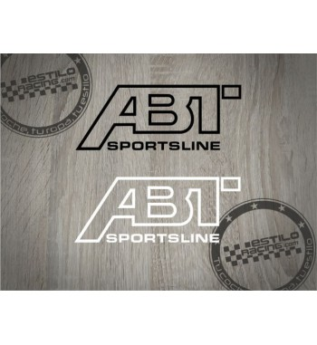 Pegatina Audi ABT sportline