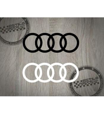 Pegatina Audi aros