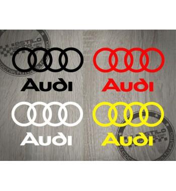 Pegatina Audi logo