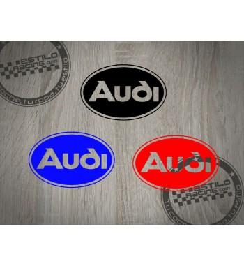 Pegatina Audi circulo