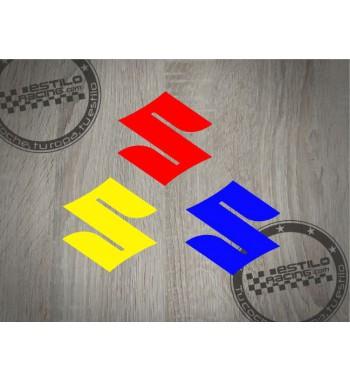 Pegatina Suzuki logo