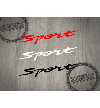 Pegatina Sport suzuki