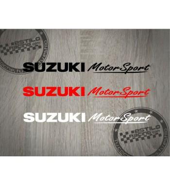 Pegatina Suzuki MotorSport