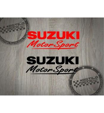Pegatina Suzuki Motorsport 2