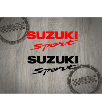 Pegatina Suzuki Sport