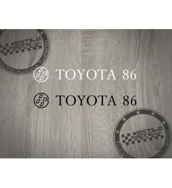Pegatina Toyota 86