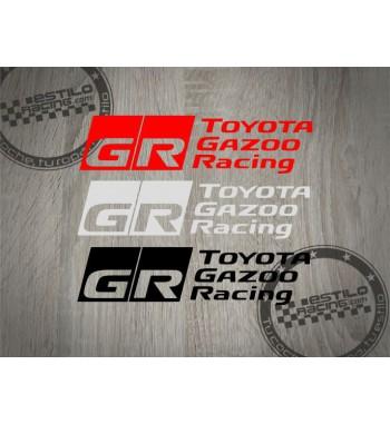 Pegatina Toyota Gazoo Racing
