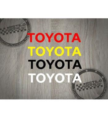 Pegatina Toyota