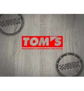 Pegatina Toyota Toms