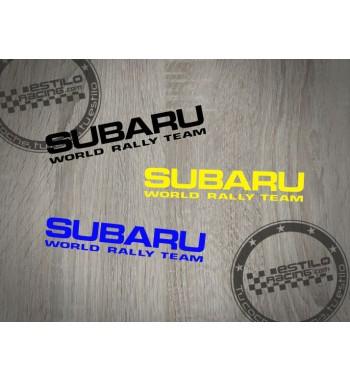 Pegatina Subaru WRT