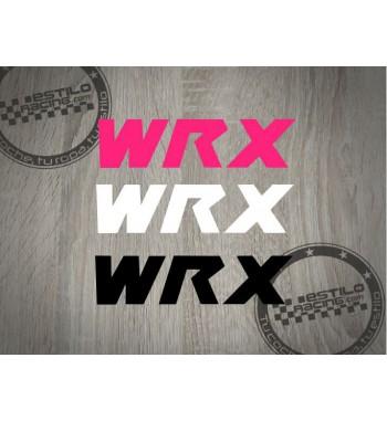 Pegatina Subaru WRX