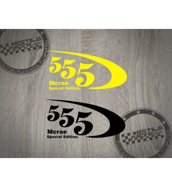 Pegatina Subaru 555 Mcrae
