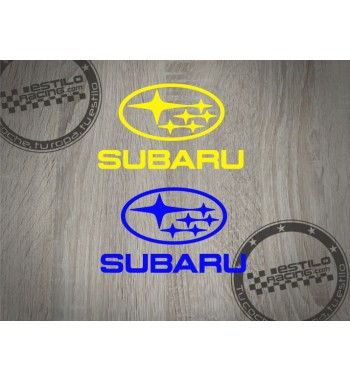 Pegatina Subaru logo