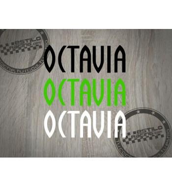 Pegatina Octavia