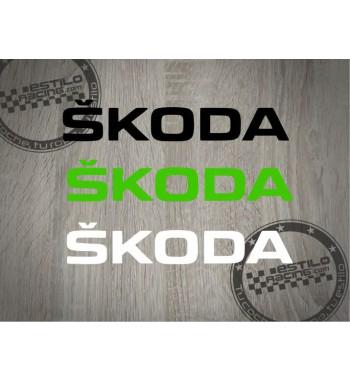 Pegatina Skoda