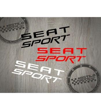 Pegatina Seat Sport letras