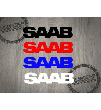 Pegatina Saab