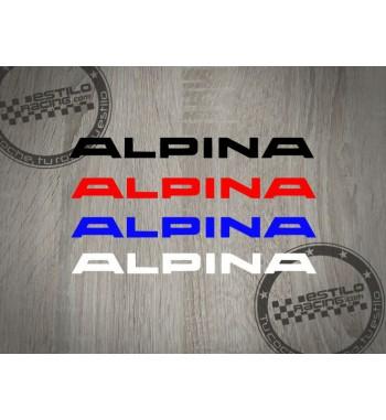 Pegatina BMW Alpina