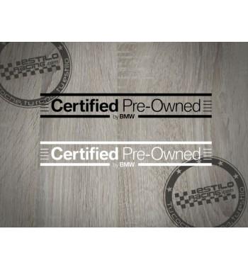 Pegatina Certified Pre...