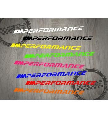 Pegatina BMW M performance