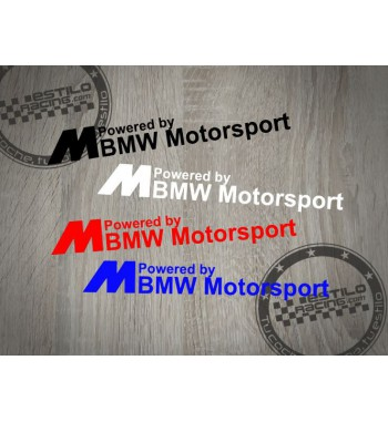 Pegatina BMW M powered