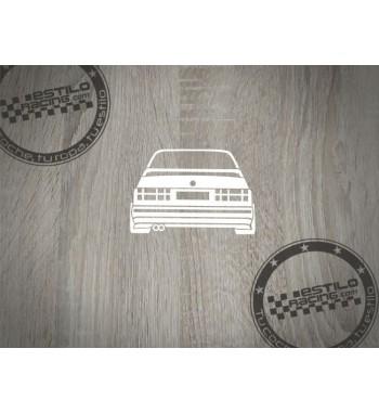 Pegatina BMW E30