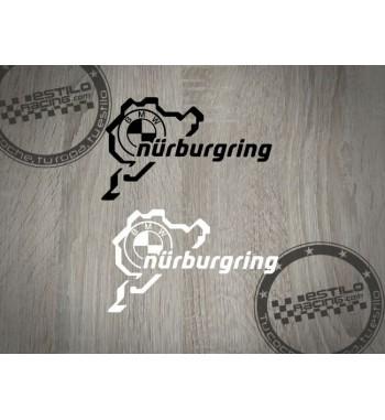Pegatina Nurburgring BMW
