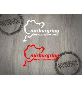 Pegatina Nurburgring M...
