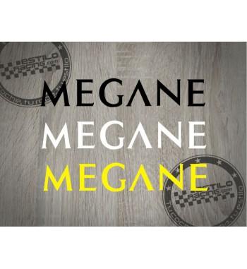 Pegatina Megane